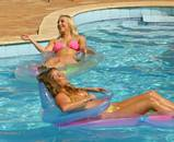 Women Topless Swimming Pool